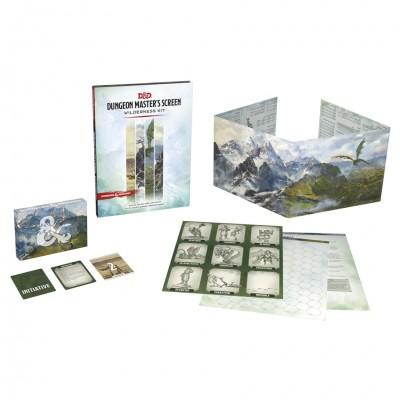 D&D 5E: DM's Screen Wilderness Kit