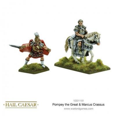 HC: Pompey the Great & Marcus Crassus