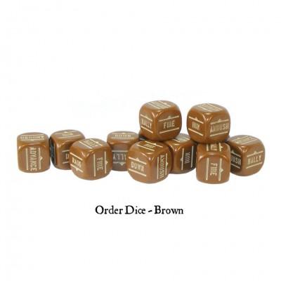 BA:  Orders Dice - Brown