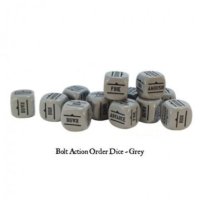 BA: Orders Dice - Grey