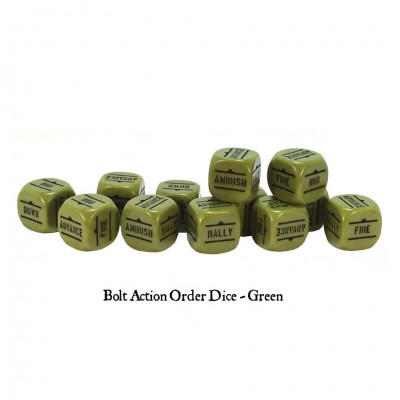 BA: Orders Dice - Green