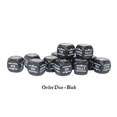 BA: Orders Dice - Black