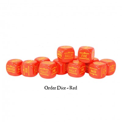BA: Orders Dice - Red