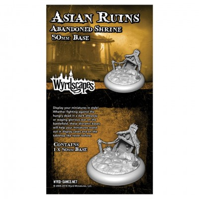 Asian Ruins: 50mm Abandoned Shrine (1)