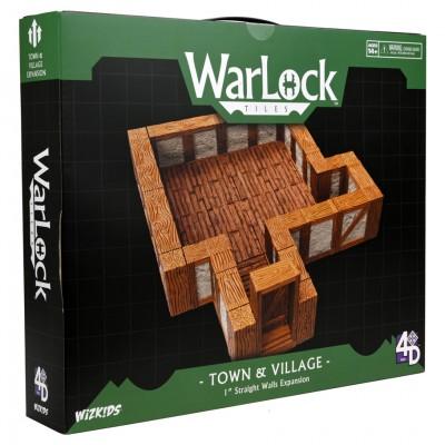 WarLock Tiles: Town & Straight Walls