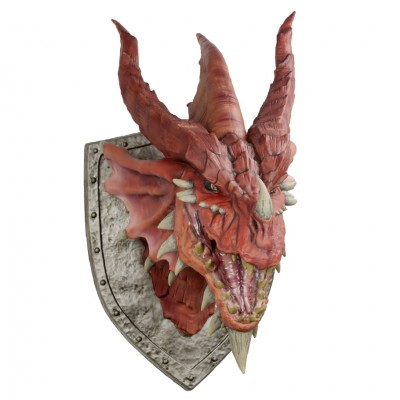D&D: Red Dragon Trophy Plaque