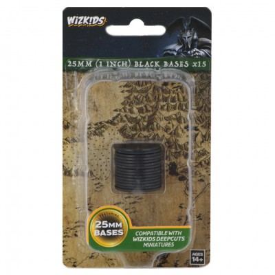 WZK DC: Black 25mm Round Base