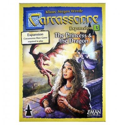 Carcassonne: Princess & Dragon Exp 3