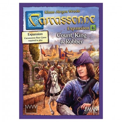 Carcassonne: Count, King & Robber Exp 6