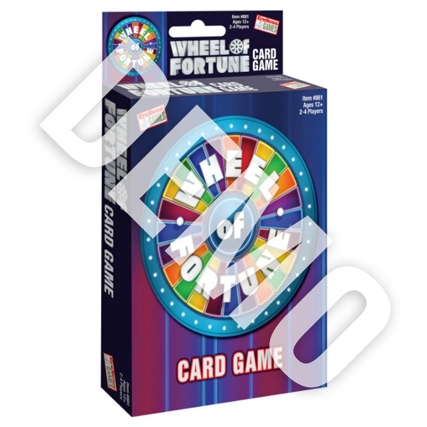 Wheel Of Fortune Card Game DEMO