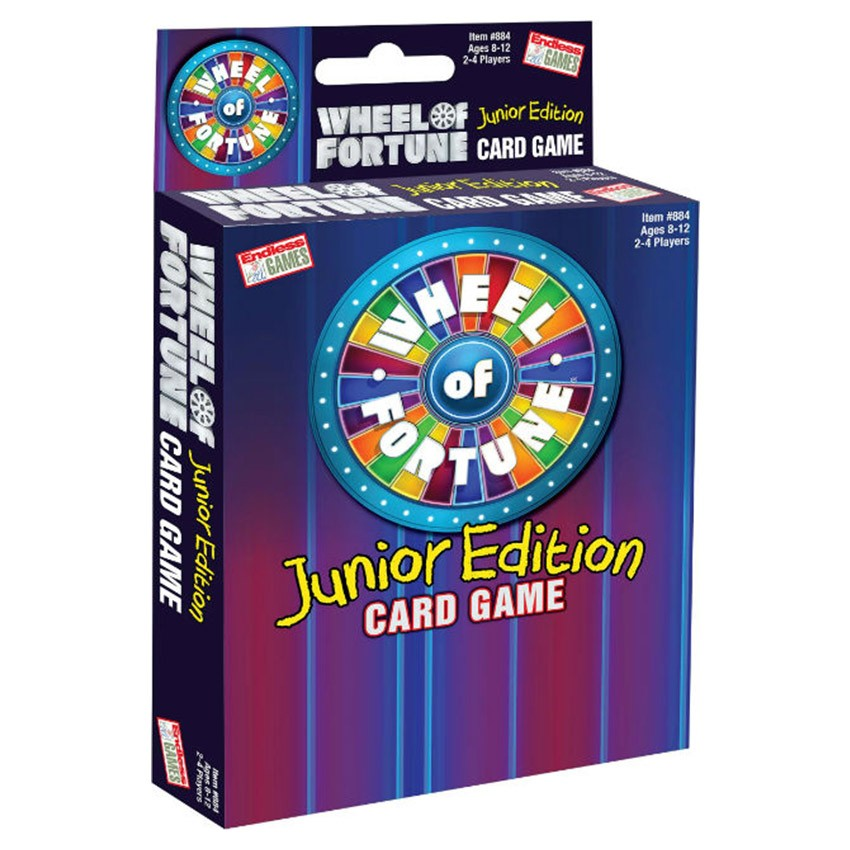 Wheel Of Fortune Card Game Jr.