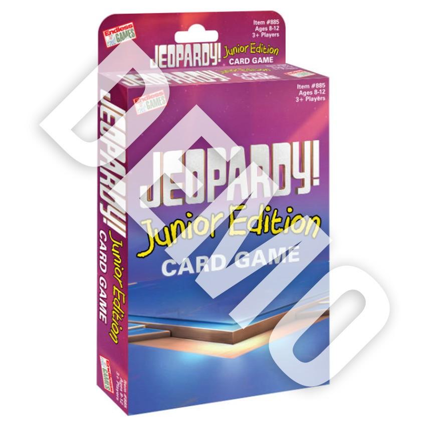Jeopardy! Card Game Jr. DEMO