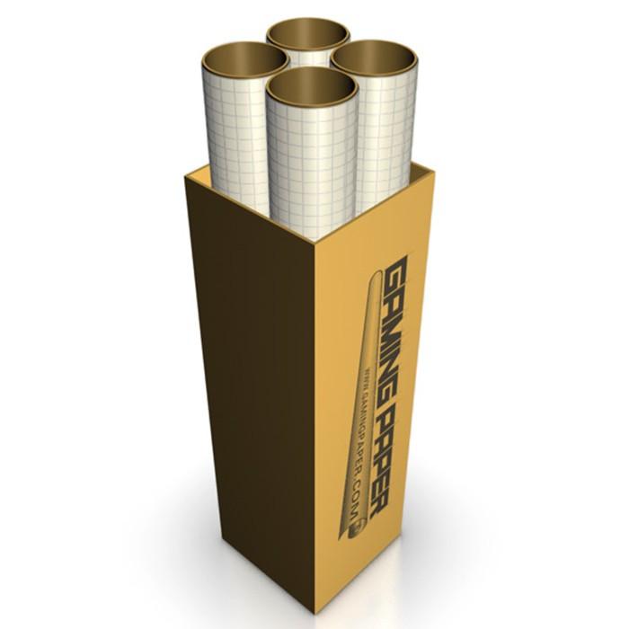"GP: Tan 1"" Square Roll Full Case (4)"