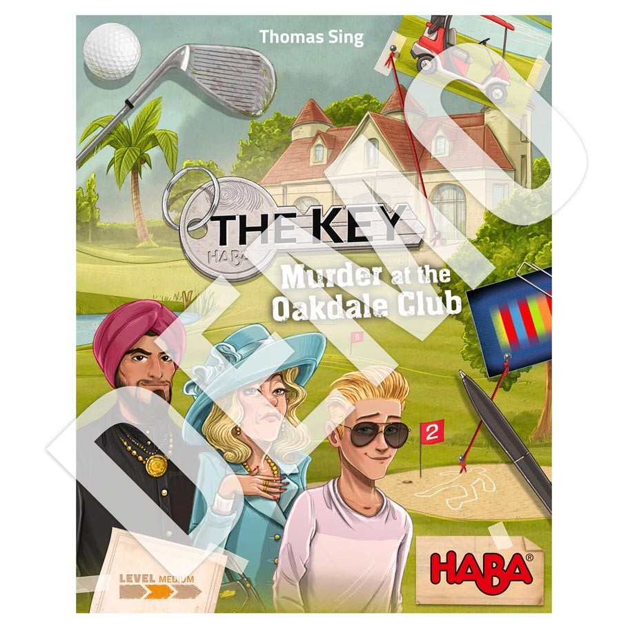 The Key: Murder at the Oakdale Club DEMO
