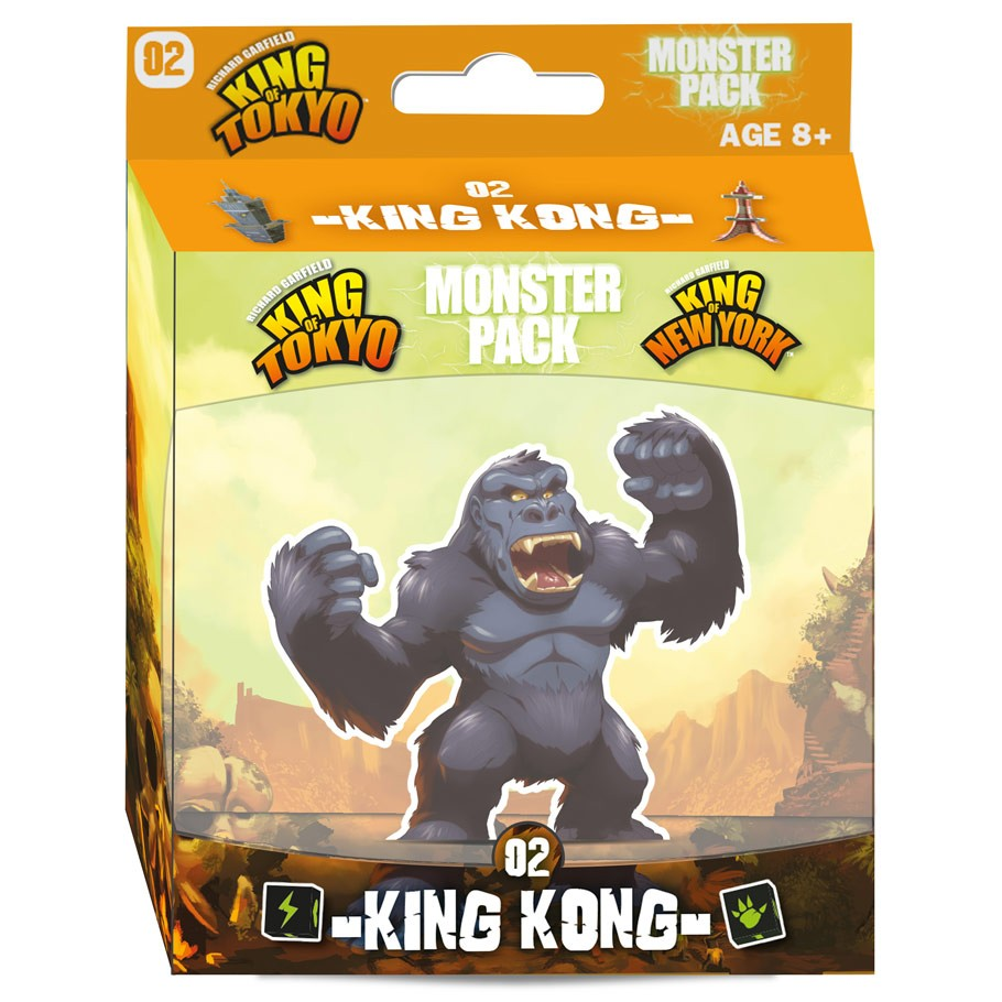 King of Tokyo 2E: Mon Pack 2: King Kong