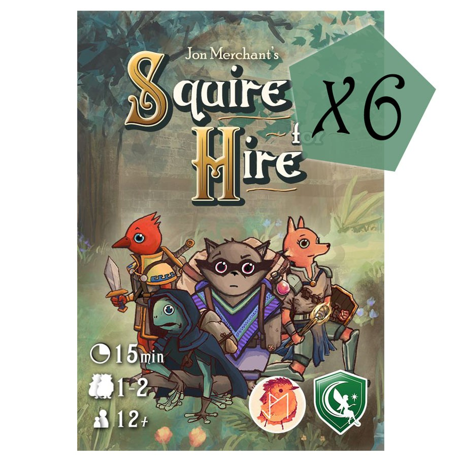 Squire for Hire: Retail Display (6)