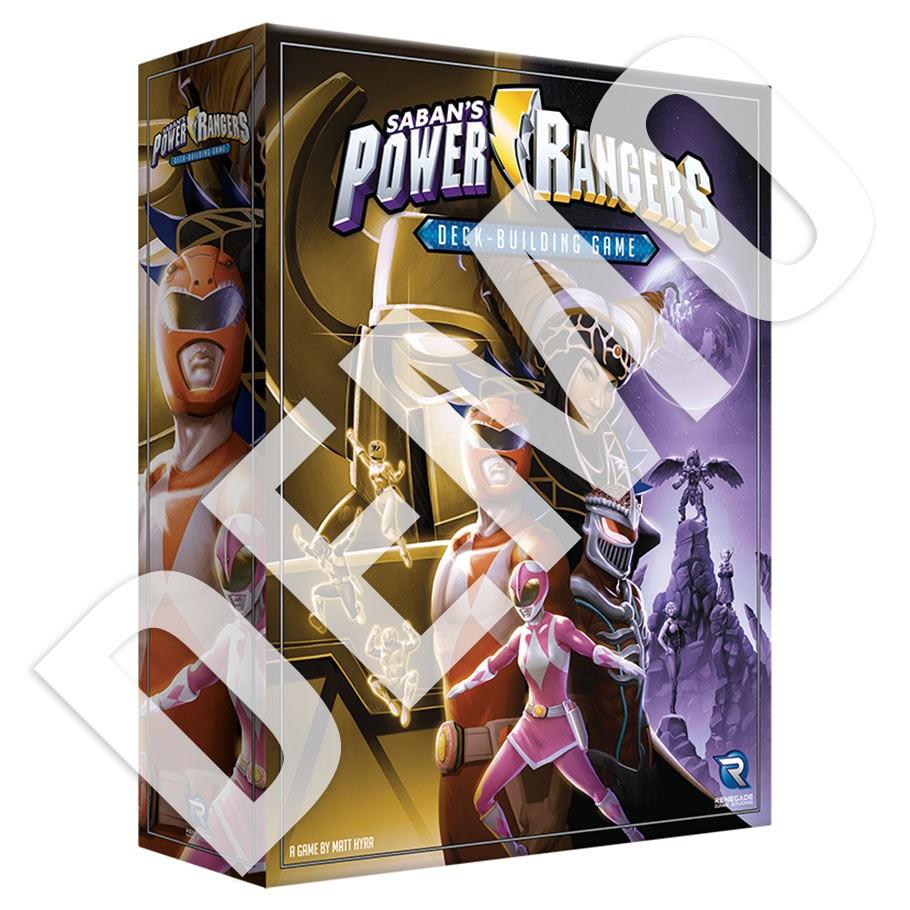 Power Rangers Deck-Building Game DEMO