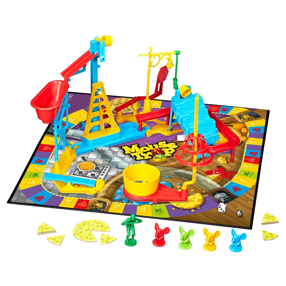 Playing Mouse Trap Board Game - YouTube